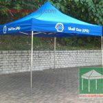 絲印廣告帳篷-ShellGas