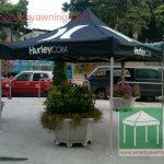 絲印廣告帳篷-printed-hurley