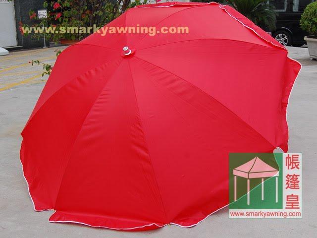 太陽傘-紅色