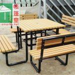 環保木桌椅組合-OFS195
