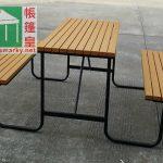 環保木桌椅組合-COM-A08