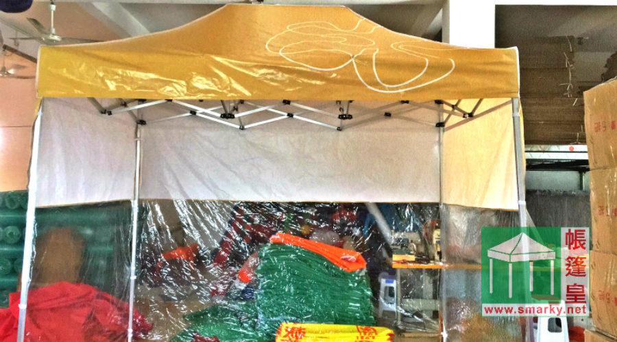 噴畫帳篷透明圍布