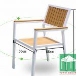 環保木餐椅-SM008
