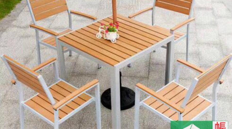 環保木桌椅組合
