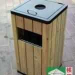 環保木垃圾桶