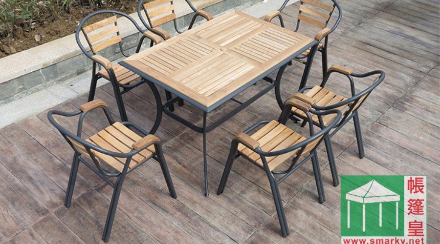 環保木餐桌椅組合 SM-100