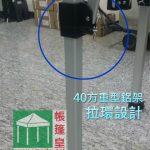 3.0Mx6.0M 40方重型鋁架帳篷 (6支柱)