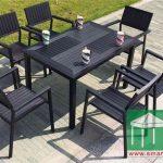 環保木餐桌-SM013