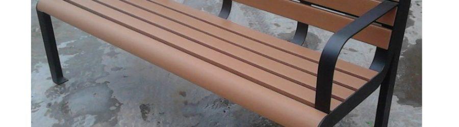 環保木公園長椅