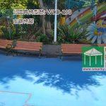 環保木公園長椅-WDD19B-古銅腳