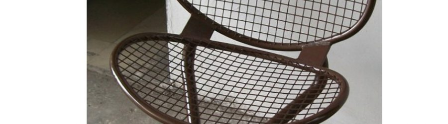 單坐位金屬椅